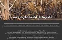 Cor Visser Natuur fotograaf